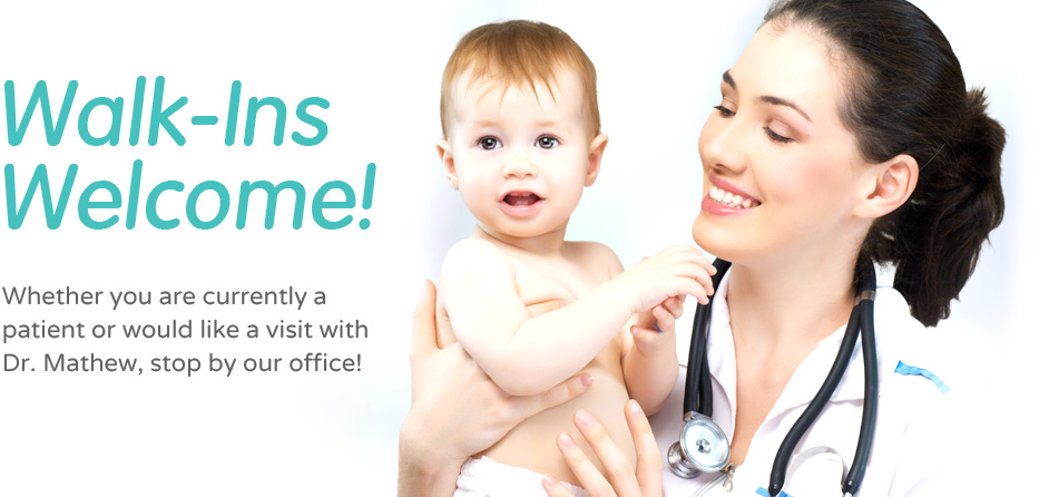 Dr. Mathew's Family Practice, Walk-ins welcome