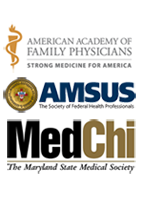 American Academy of Family Physicians, Association of Military Surgeons of the US, Med Chi